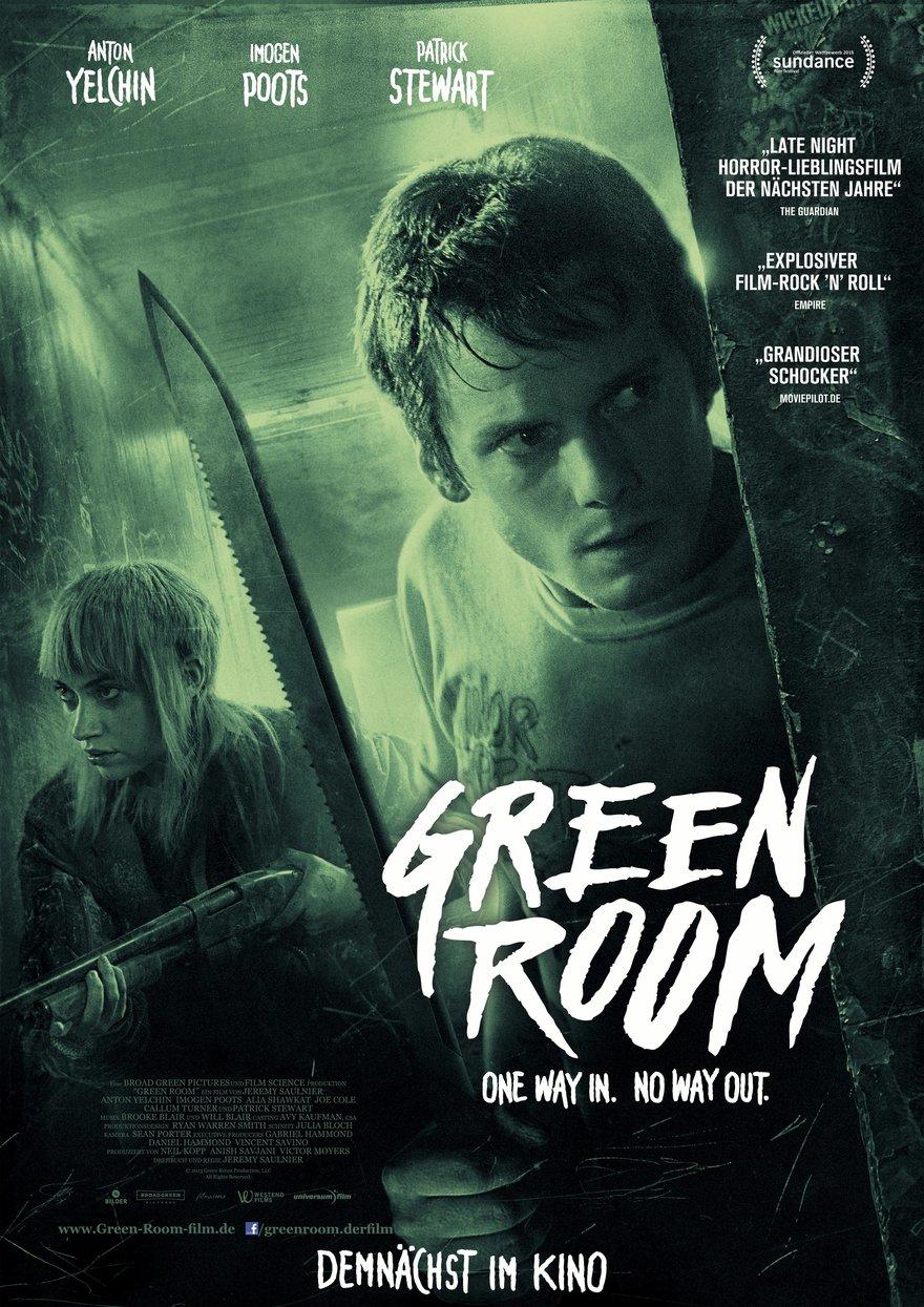 Green Room 2015 Filmplakat