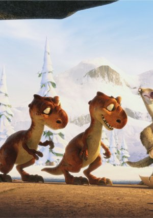 Ice Age 1-3 Poster
