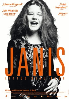 Janis: Little Girl Blue Poster