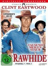 Rawhide - Tausend Meilen Staub - Staffel 7, Teil 1 Poster