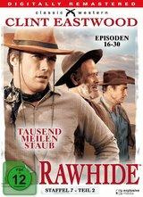Rawhide - Tausend Meilen Staub - Staffel 7, Teil 2 Poster