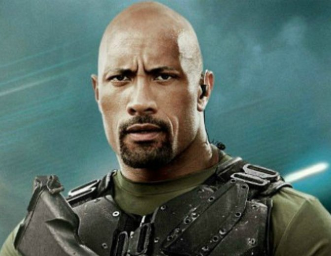 Dwayne Johnson G I Joe