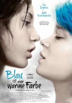 Blau ist eine warme Farbe Poster