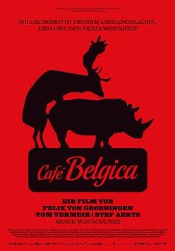 Café Belgica Poster