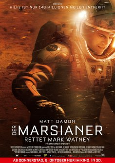Der Marsianer - Rettet Mark Watney Poster
