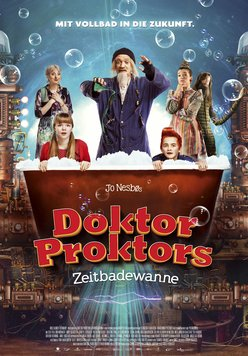 Doktor Proktors Zeitbadewanne Poster
