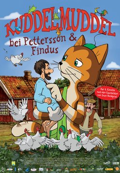 Kuddelmuddel bei Pettersson & Findus Poster
