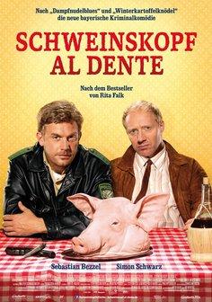 Plakat: Schweinskopf al dente