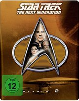 Star Trek - The Next Generation: Season 2 (Exklusiv bei Amazon, Collector's Edition, Steelbook) Poster