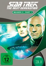 Star Trek - The Next Generation: Season 3, Part 1 (3 Discs) Poster