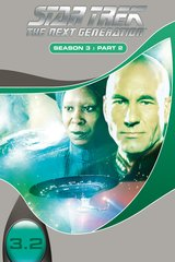 Star Trek - The Next Generation: Season 3, Part 2 (3 DVDs) Poster