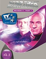 Star Trek - The Next Generation: Season 4, Part 1 (3 DVDs) Poster