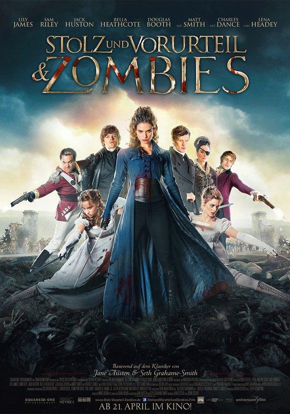 Stolz und Vorurteil & Zombies Poster