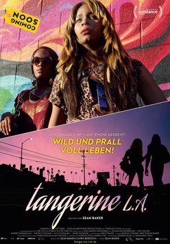 Tangerine L.A. Poster