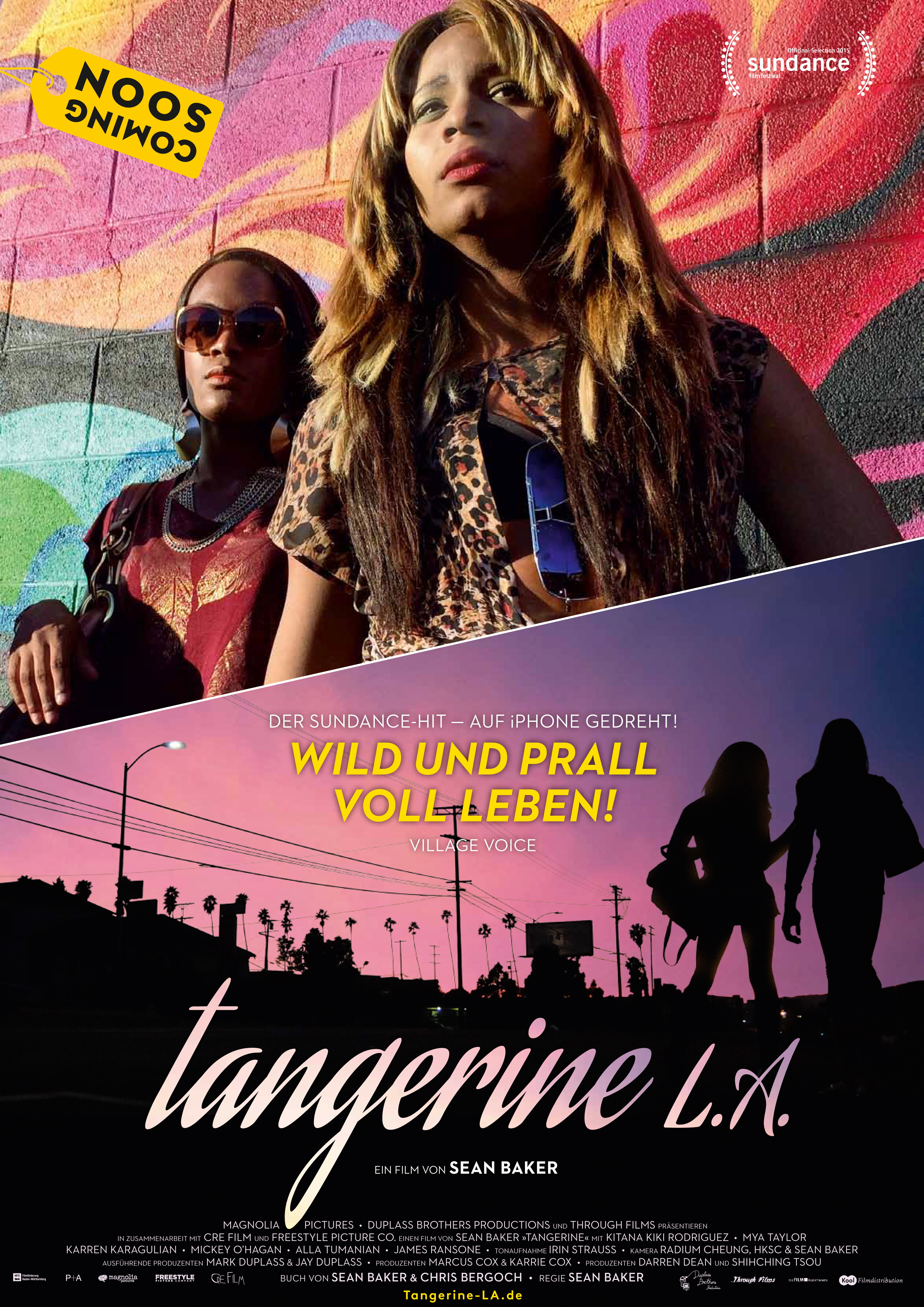 Tangerine L.A. Poster