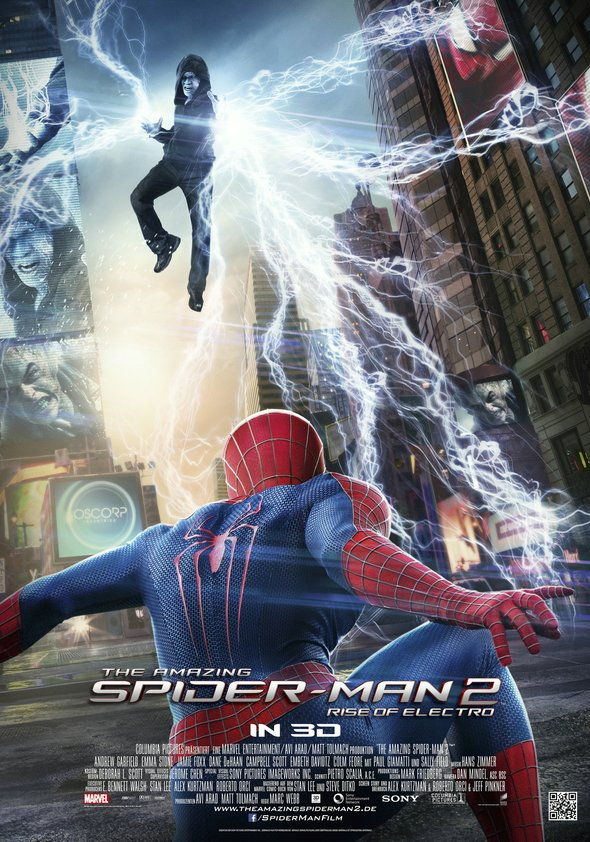 The Amazing Spider-Man 2: Rise of Electro Poster