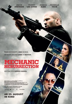 The Mechanic: Resurrection Poster
