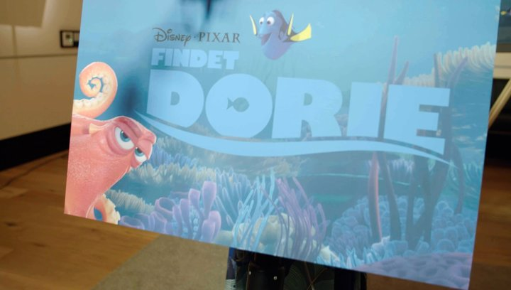 Findet Dorie - Making Of (Mini) Poster