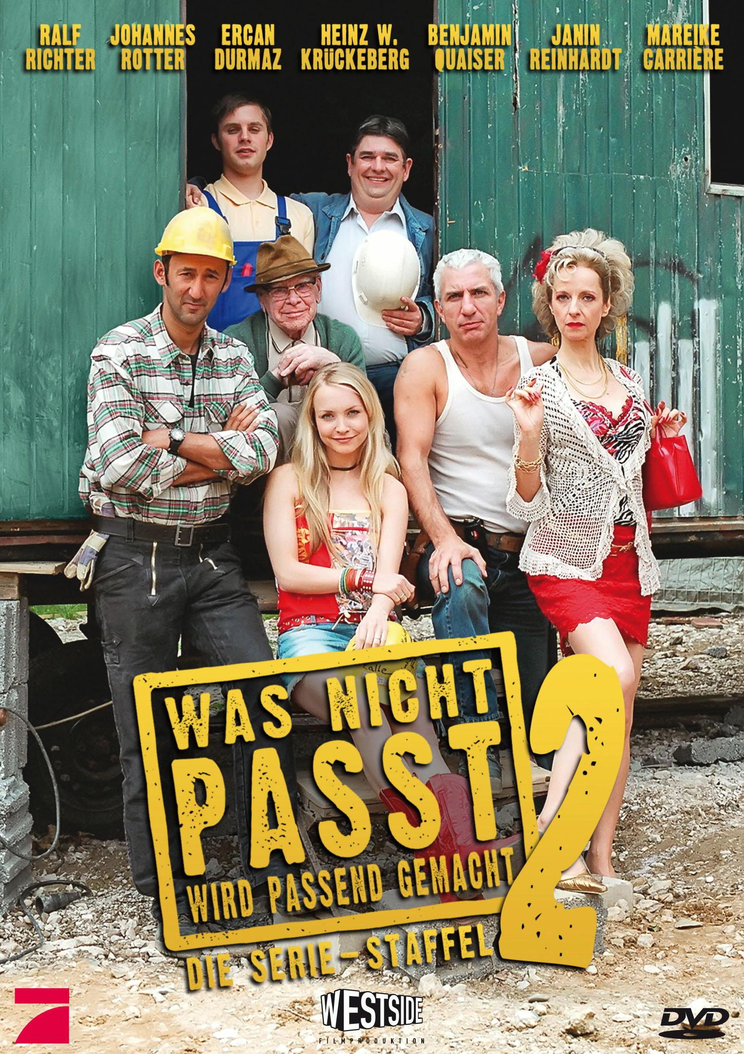 Was nicht passt, wird passend gemacht - Staffel 2 (2 DVDs) Poster