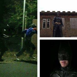 """Echter Batman in England aufgetaucht: Ein Dunkler Ritter macht jetzt Jagd auf """"Killer-Clowns"""""""