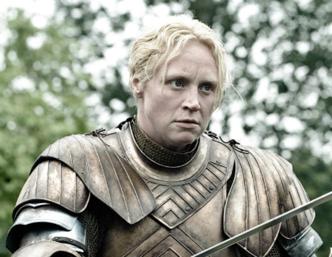 Brienne von Tarth Gwendoline Christie Game of Thrones