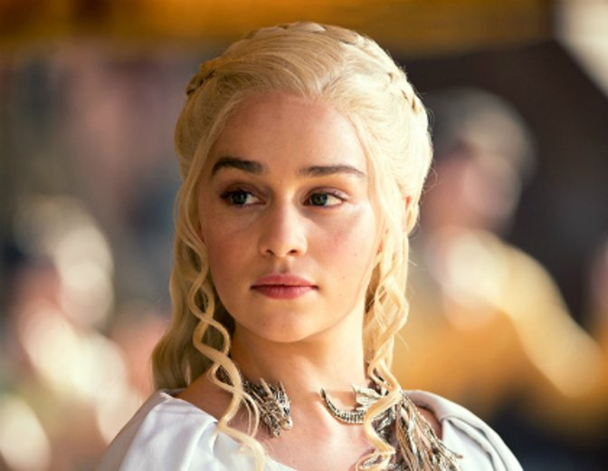 Deanerys Targaryen Emilia Clarke Game of Thrones