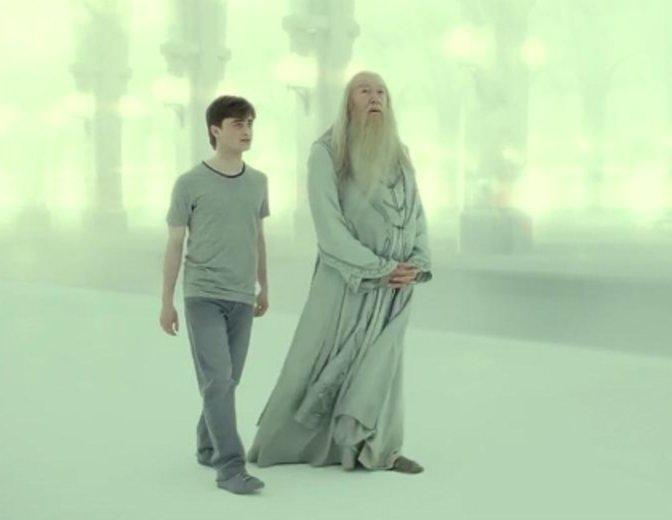 Harry Potter Albus Dumbledore Die Heiligtümer des Todes Teil 2