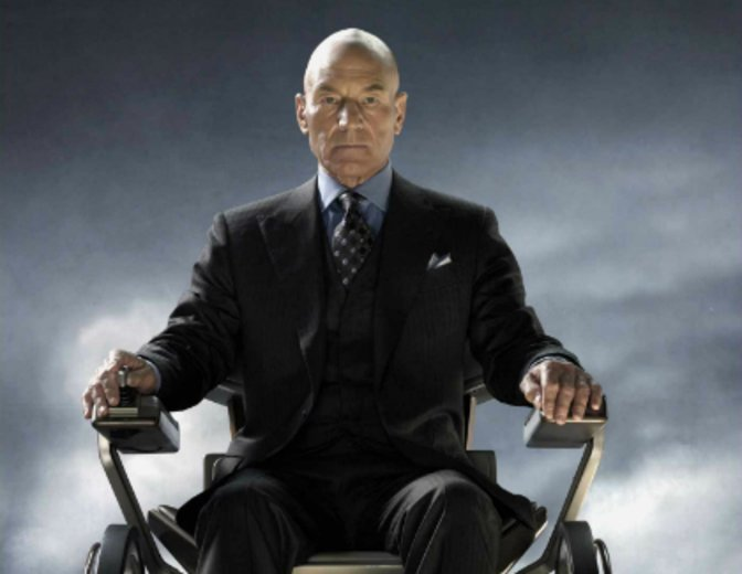 Patrick Stewart Professor X Men