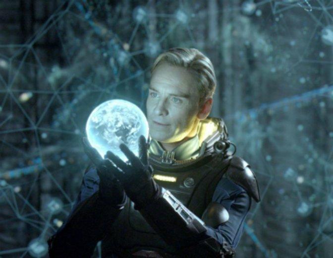 Prometheus Michael Fassbender David Android