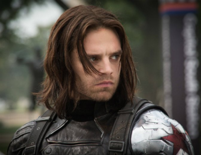Sebastian Stan The Winter Soldier Bucky Barnes