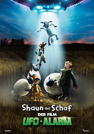 Plakat: SHAUN DAS SCHAF - Der Film 2: UFO-ALARM