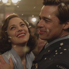 """Der """"Allied""""-Trailer schickt Brad Pitt und Marion Cotillard vom Himmel in die Hölle"""