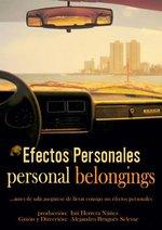 Efectos personales - Personal Belongings (Cinespañol 1) Poster