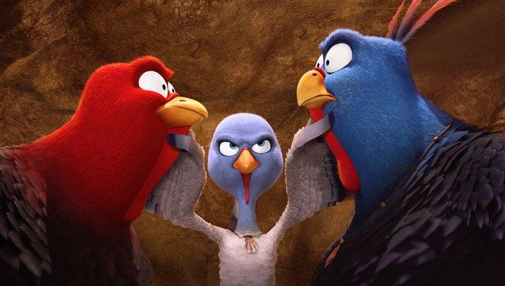 Free Birds (VoD-BluRay-DVD-Trailer) Poster