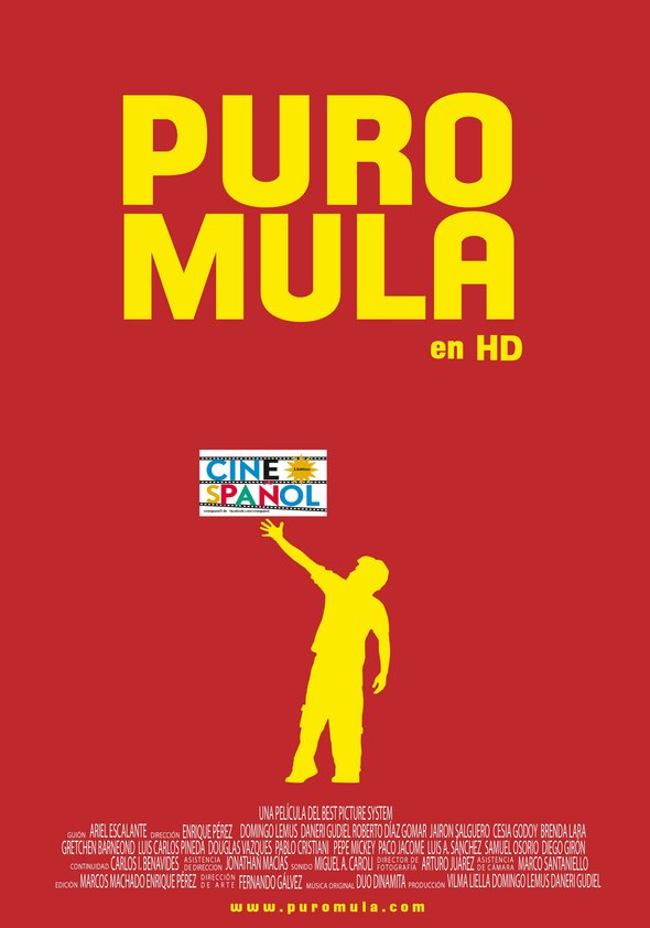 Puro Mula (Cinespañol 3) Poster