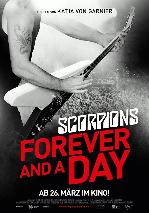 Scorpions - Forever and a Day Poster