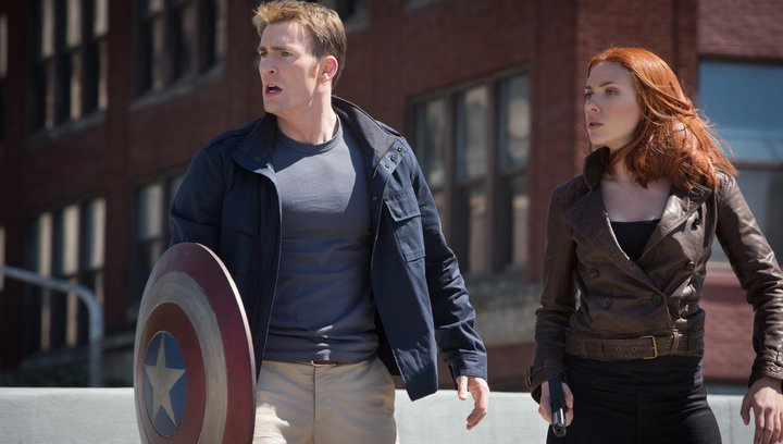 The Return of The First Avenger: Special Extended Trailer Poster