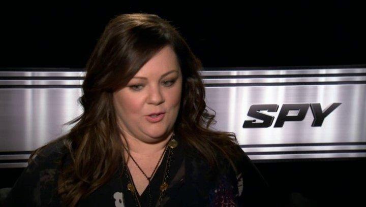 Melissa McCarthy über die Herausforderung der Rolle - OV-Interview Poster
