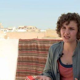 Valeria Eisenbart - George - über die Verfolgungsjagd über den Dächern von Kairo bzw Tunis - Interview Poster