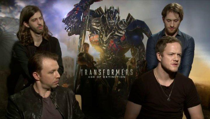 Imagine Dragons - Musiker - um was es in Battle Cry geht - OV-Interview Poster