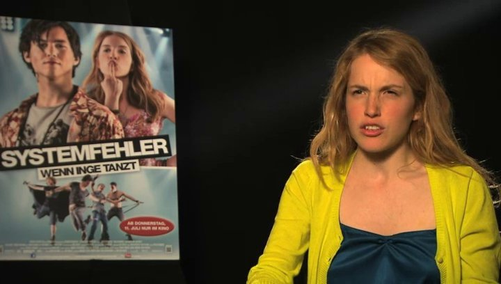 Paula Kalenberg über Inge - Interview Poster
