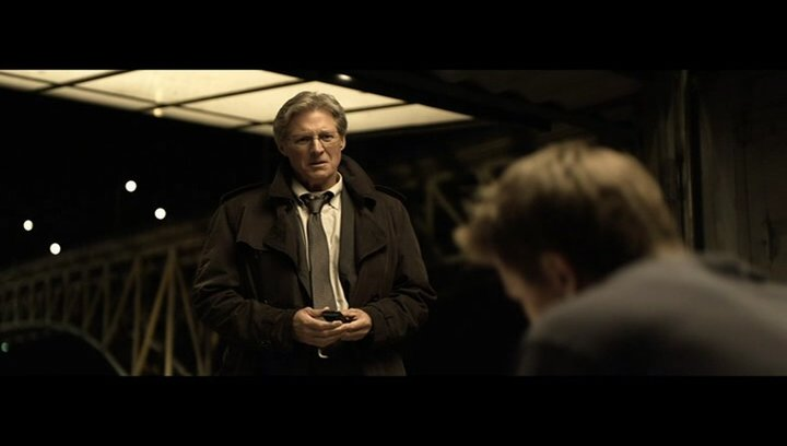 Alan erzählt Sam vom Pager - Szene Poster