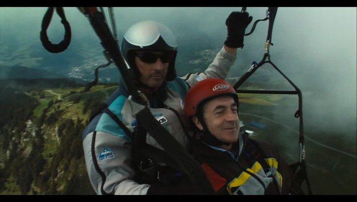Paragliding - Szene Poster