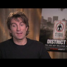 Sharlto Copley über den Film - OV-Interview Poster