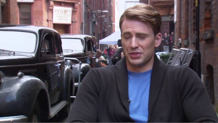 Chris Evens - Steve Rogers - Captain America - über Die Fans Von Captain America - OV-Interview Poster