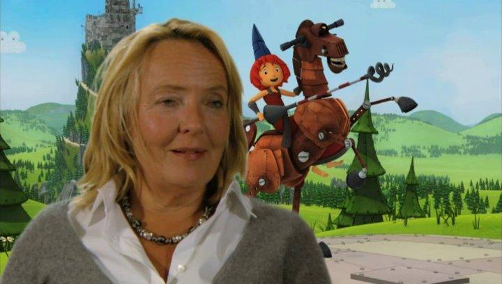 Gabriele Walther über das Rheinland - Interview Poster
