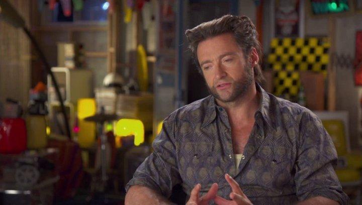 Hugh Jackman - Wolverine - darüber, erneut Wolverine zu spielen - OV-Interview Poster