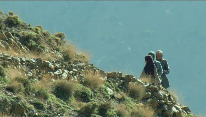 Atlasgebirge Marokko - Szene Poster