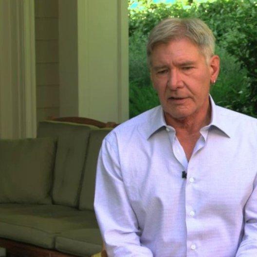Harrison Ford über die Beziehung zwischen Oberst Graff und Ender - OV-Interview Poster