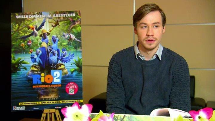 David Kross - Blu - über den zweiten Teil - Interview Poster